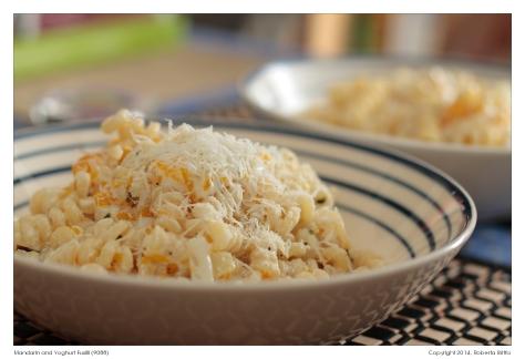 Mandarin and Yoghurt Fusilli (9088)