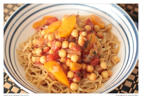 Peach and Chickpea Curry (9137)
